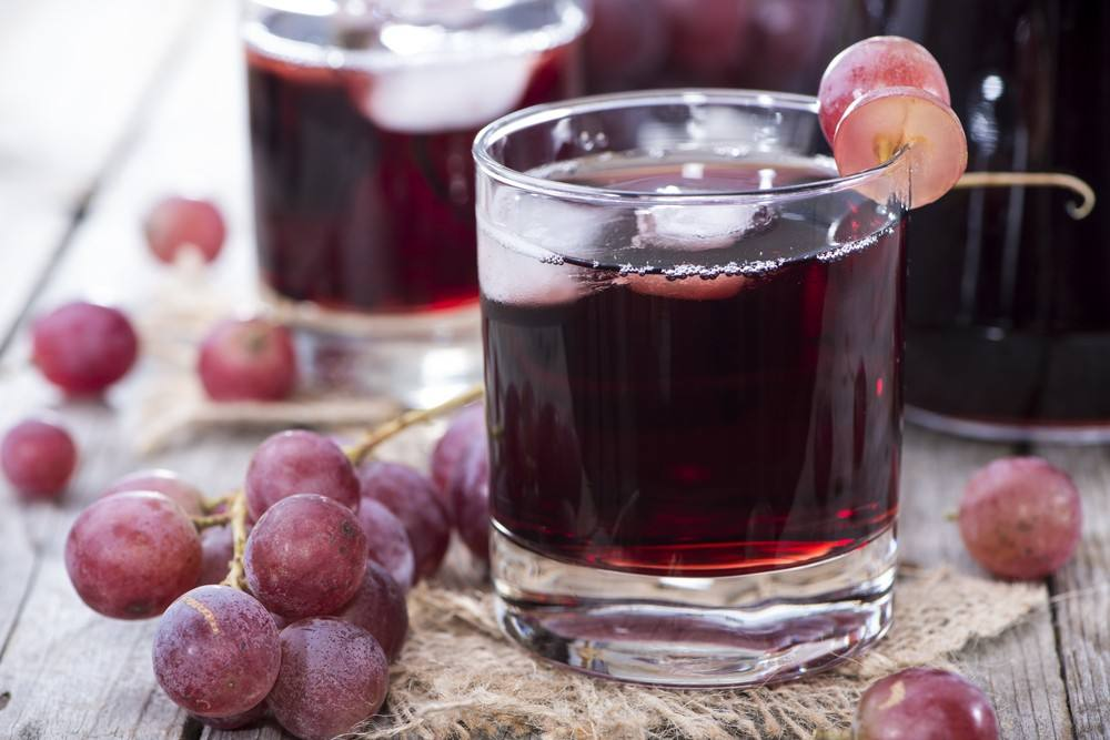 suco integral de uva
