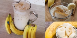 banana e agua