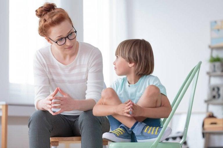 filhos que confiam nos pais