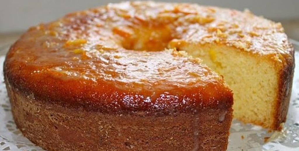 bolo de laranja molhadinho