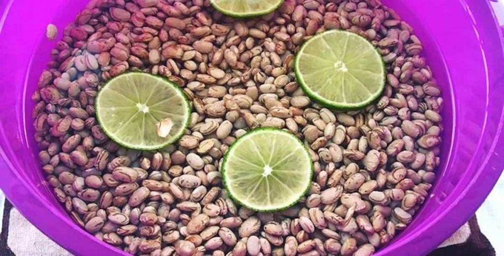 Limão no feijão