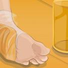 Pão e vinagre nos pés e você vai dizer adeus aos calos e rachaduras