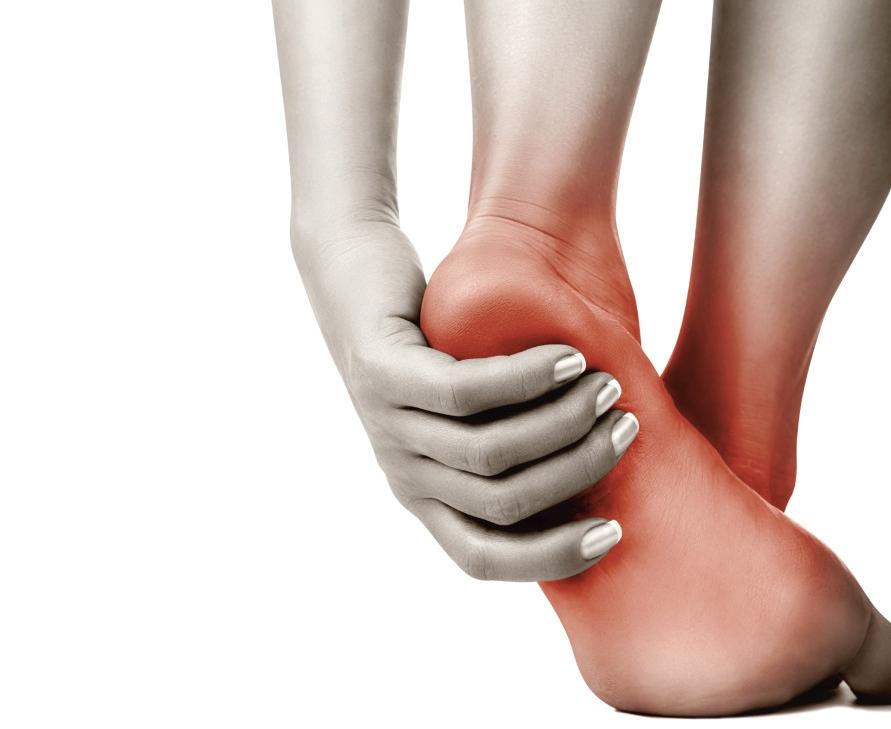 dicas de como aliviar as dores no calcanhar