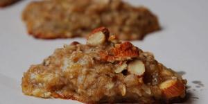 biscoitos de aveia e banana
