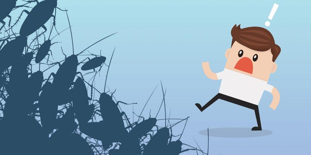 extermina os insetos