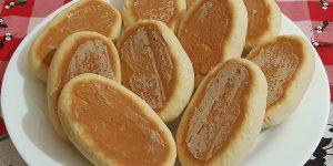 biscoitos de creme de leite